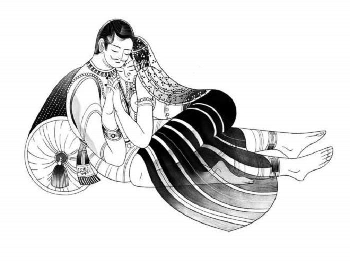Kamasutra đưa ra những lời khuyên về tình cảm lứa đôi, hạnh phúc gia đình