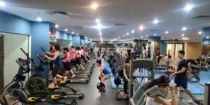 Phòng tập gym là nơi dễ làm quen kết bạn
