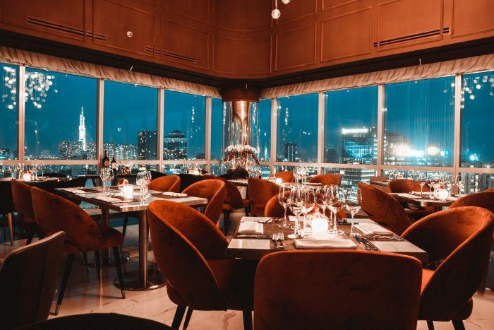 nhà hàng món âu nổi tiếng tại tphcm
