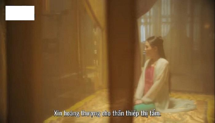 Những cảnh phim thị tẩm của hoàng đế vốn rất quen thuộc trong phinm cung đình nhà Thanh