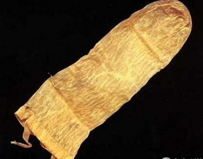 Những chiếc bao cao su cổ đại cũng có cách sử dụng đặc biệt hơn