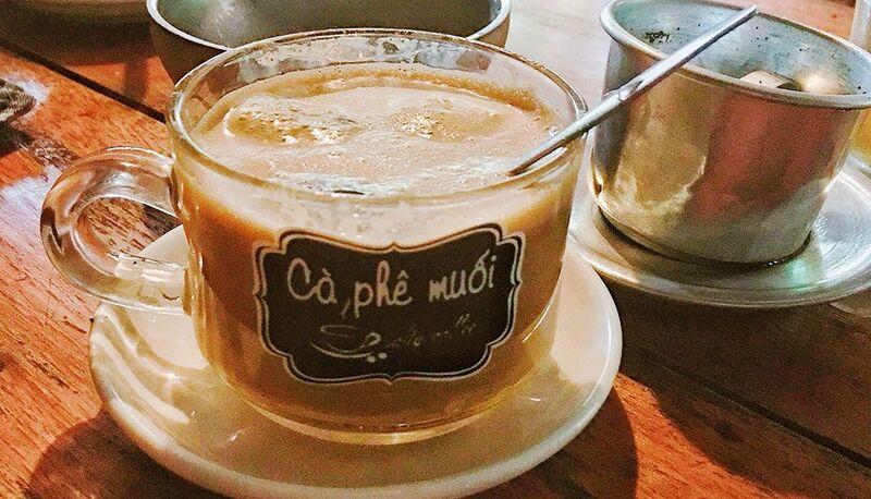 Hãy một lần trỉa nghiệm hương vị cà phê muối nhé