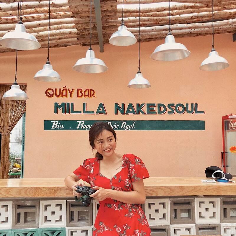 Quầy bar của Milla Nakedsoul
