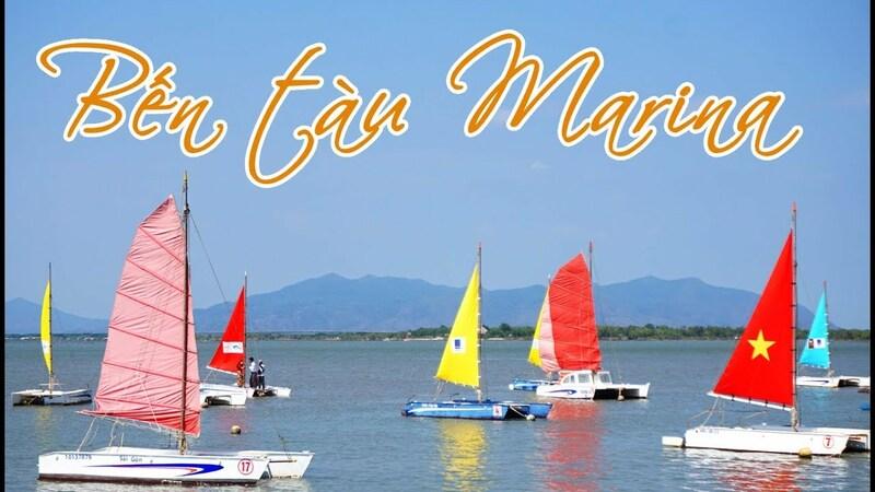 Bến thuyền Marina sở hữu phong cảnh tuyệt đẹp